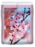 Joy Of Spring. Pink Spring In Amsterdam Duvet Cover