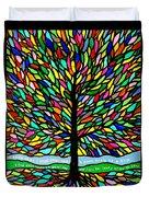 Joyce Kilmer's Tree Duvet Cover