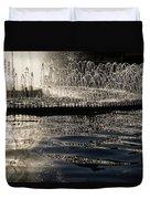 Joyful Sunny Splashes Duvet Cover
