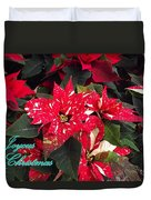 Joyous Christmas Duvet Cover