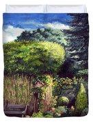 Joy's Garden Duvet Cover