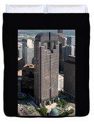 Jp Morgan Chase Tower Dallas Duvet Cover