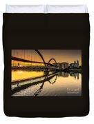 Jubia Bridge Naron Galicia Spain Duvet Cover