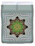 Jubilant Mandevilla Kaleidoscope Pattern Duvet Cover