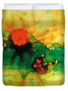 Jubilee - Abstract Art By Sharon Cummings Duvet Cover