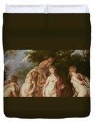 Judgement Of Paris Duvet Cover