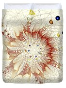 Juggle Duvet Cover by Anastasiya Malakhova