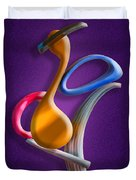 Juggling Act Duvet Cover by Paul Wear