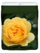 Julia Child Floribunda Rose Duvet Cover
