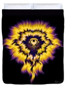 Julia Fire Duvet Cover
