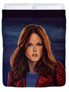 Julianne Moore Duvet Cover