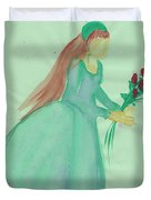 Juliet  By Jrr Duvet Cover