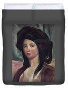 Juliette Drouet (1806-1883) Duvet Cover