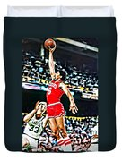 Julius Erving Duvet Cover