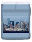 July 7 2014 - Carnival Splendor At New York City - Image 1674-01 Duvet Cover