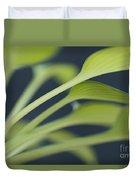 June Plantain Lily Close Ups Duvet Cover