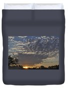 June Sunrise From The Series The Imprint Of Man In Nature Duvet Cover