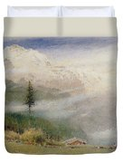 Jungfrau, 1913 Duvet Cover by Albert Goodwin
