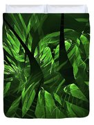 Jungle Clearing  Duvet Cover