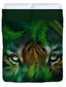 Jungle Eyes - Tiger Duvet Cover