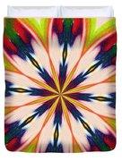 Jungle Flower Bloom Duvet Cover