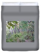 Jungle Forest In Chitwan Np-nepal Duvet Cover