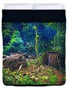Jungle Homestead Duvet Cover