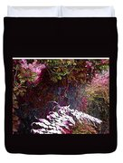 Jungle Red Tints Duvet Cover