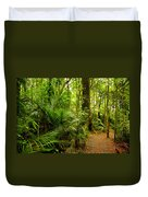 Jungle Scene Duvet Cover by Les Cunliffe