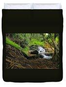 Jungle Stream Kauai Duvet Cover