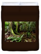 Jungle Trunks2 Duvet Cover by Les Cunliffe