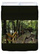 Jungle Walkway Duvet Cover