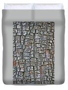 Juniper Bark- Texture Collection Duvet Cover