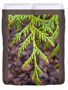 Juniper Leaf Duvet Cover