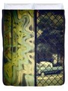 Junk Yard Duvet Cover