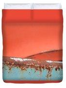 Junkyard Horizon Duvet Cover