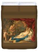 Jupiter And Antiope Duvet Cover