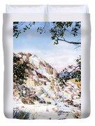 Jupiter Terrace Yellowstone Np Duvet Cover
