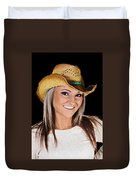 Just A Country Girl Duvet Cover