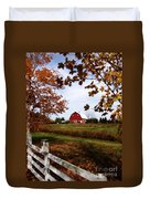 Just Across The Fence Duvet Cover