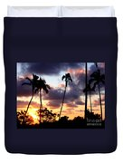 Just Another Sunrise In Paradise Duvet Cover