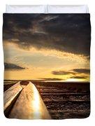 Just Before Sunrise Duvet Cover by Bob Orsillo
