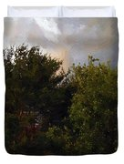 Just Before The Rain Duvet Cover