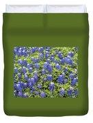 Just Bluebonnets Duvet Cover