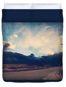 Just Down The Road Duvet Cover by Laurie Search