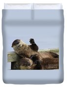 Just For Laughs Duvet Cover