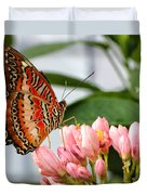 Just Pink Butterfly Duvet Cover
