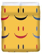 Just Smile Duvet Cover