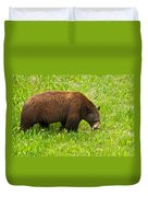 Juvenile Grizzly Bear In Kootenay Np-bc Duvet Cover