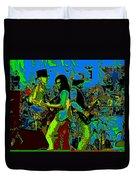 Jwinter #16 In Cosmicolors Duvet Cover